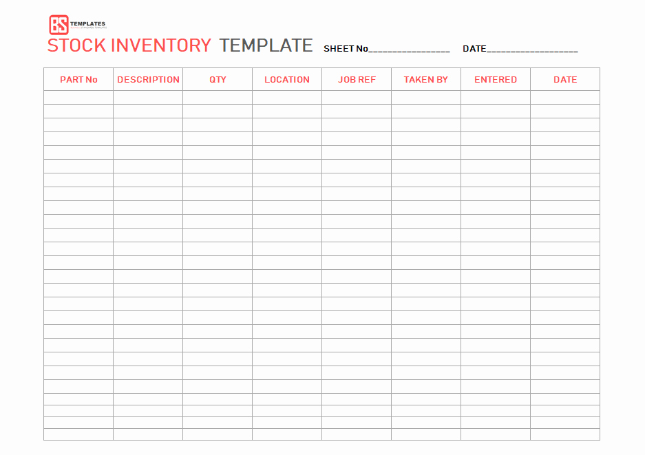 Simple Inventory Excel Template Fresh Excel Inventory Template – Free Sample Example format In