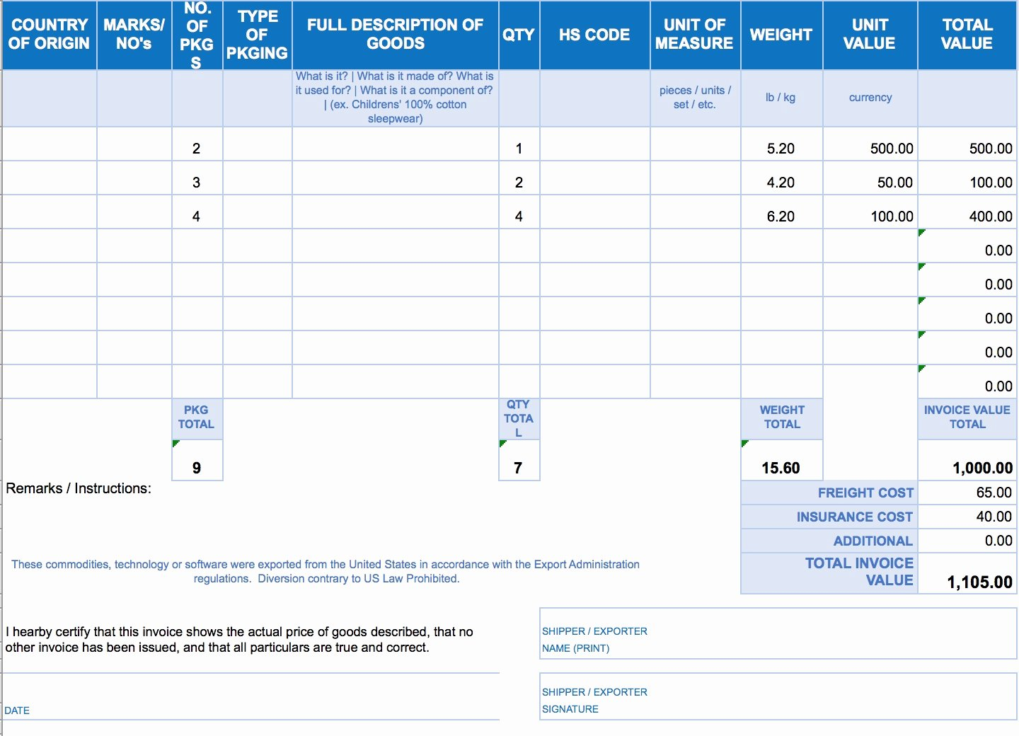 Simple Invoice Template Excel Fresh Free Download Invoice Template Excel Invoice Template Ideas