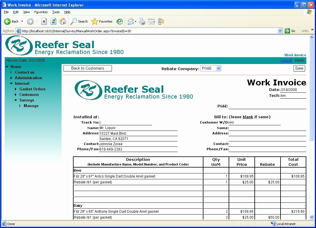 Simple Invoice Template Excel Fresh Invoice Template Excel 2010