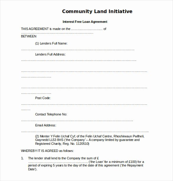 Simple Loan Application form Template Beautiful 18 Loan Agreement Templates – Free Word Pdf format