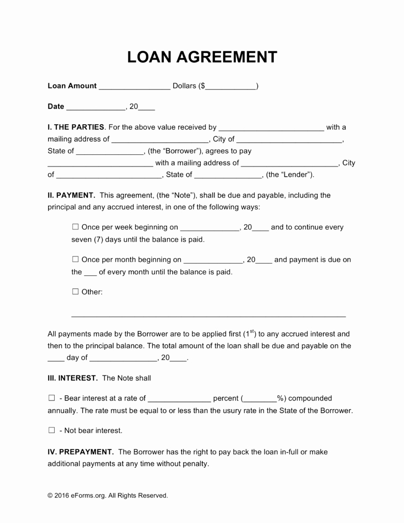 Simple Loan Application form Template Unique Simple Loan Agreement