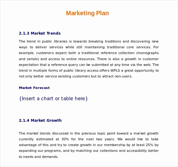 Simple Marketing Plan Template Elegant 22 Microsoft Word Marketing Plan Templates