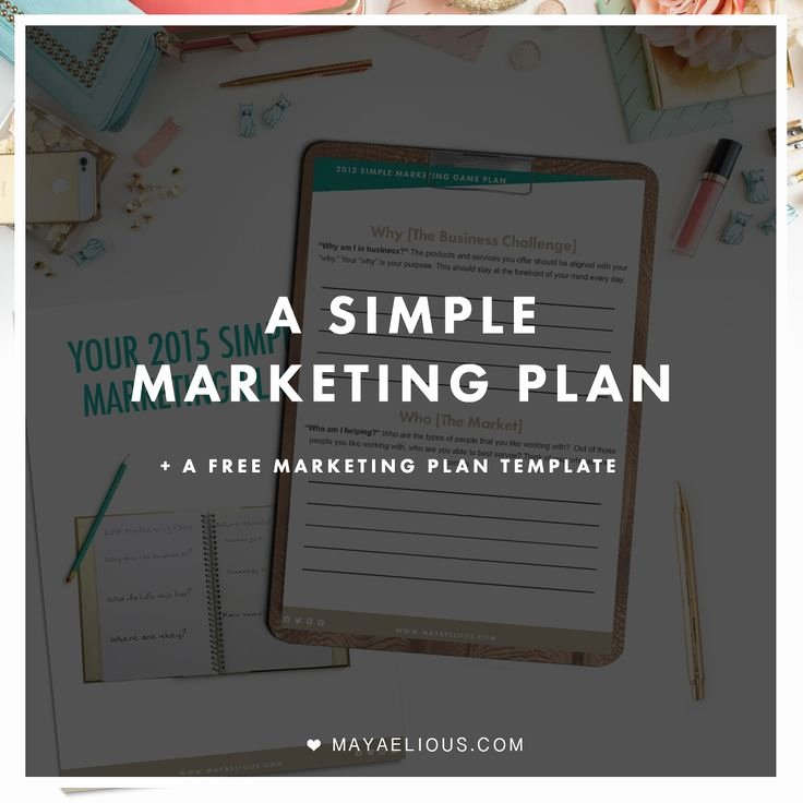Simple Marketing Plan Template Elegant Simple Business Plan Template for High School Students