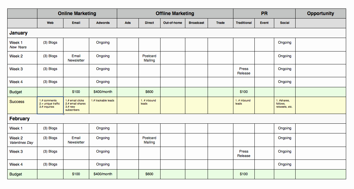 Simple Marketing Plan Template Luxury Marketing Plan for Small Business Sample Reportz725 Web