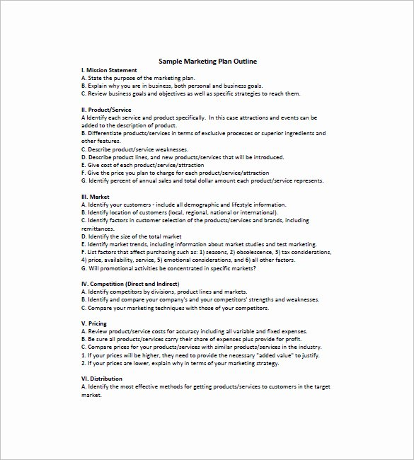 Simple Marketing Plan Template New 19 Simple Marketing Plan Templates Doc Pdf