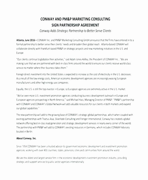 Simple Partnership Agreement Template Free Inspirational Investment Partnership Agreement Template Simple Contract