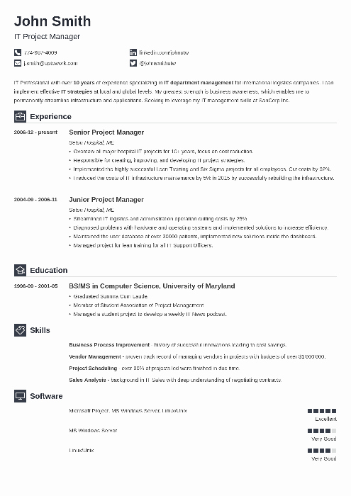 Simple Professional Resume Template Fresh 20 Resume Templates [download] Create Your Resume In 5