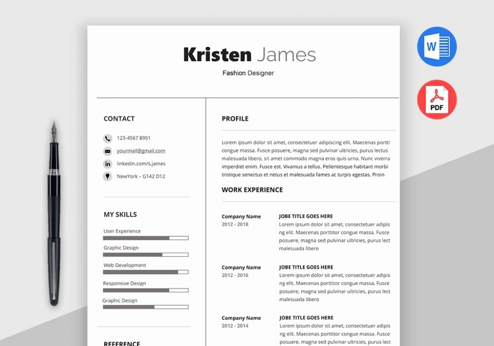 Simple Professional Resume Template Fresh Race Simple Professional Resume Template Maxresumes