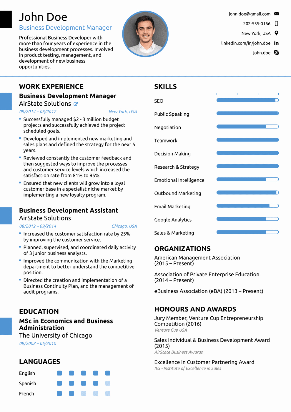Simple Professional Resume Template Lovely 2018 Professional Resume Templates as they Should Be [8 ]
