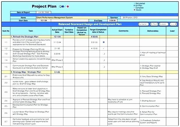 Simple Project Implementation Plan Template Luxury Implementation
