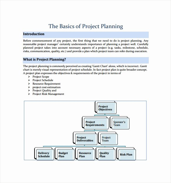 Simple Project Plan Template Word New 19 Useful Sample Project Plan Templates to Downlaod