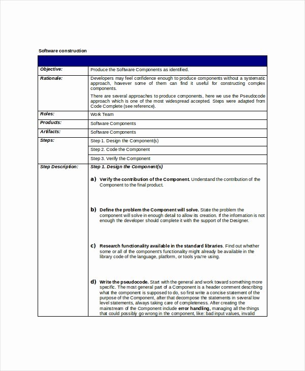 Simple Project Scope Template Best Of 8 Project Scope Templates Free Pdf Word Documents
