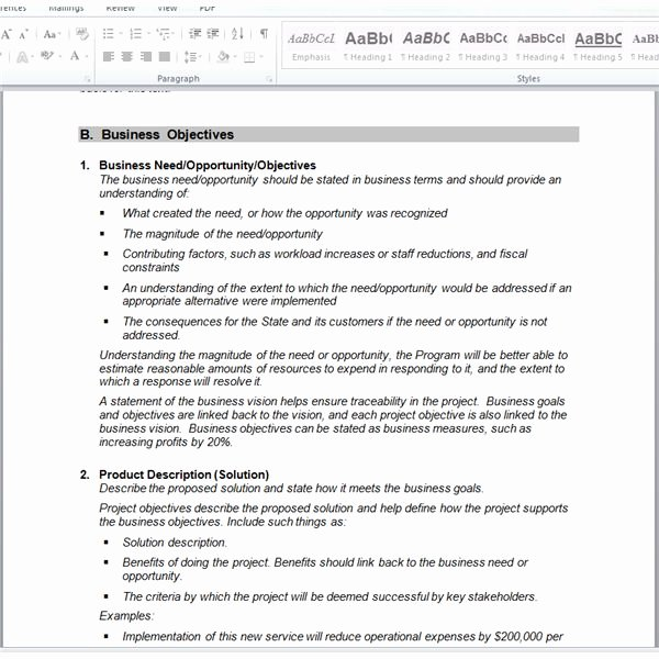 Simple Project Scope Template Fresh A Project Manager S Guide to Requirements Gathering