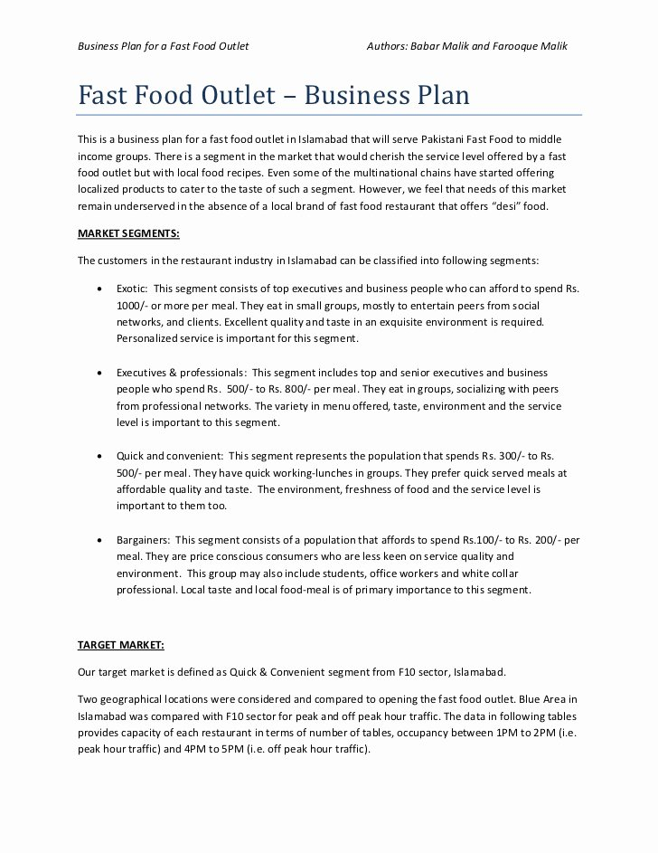 Simple Restaurant Business Plan Template Best Of School Food Service Manager Resume Mbadissertation Web