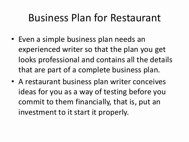 Simple Restaurant Business Plan Template Fresh Simple Restaurant Business Plan Template Restaurant