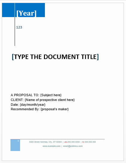Simple Rfp Template Word Fresh Proposal Templates Archives Microsoft Word Templates