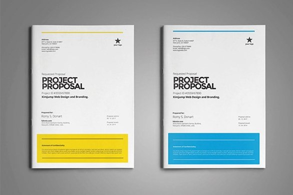 Simple Rfp Template Word New 31 Free Proposal Templates Word