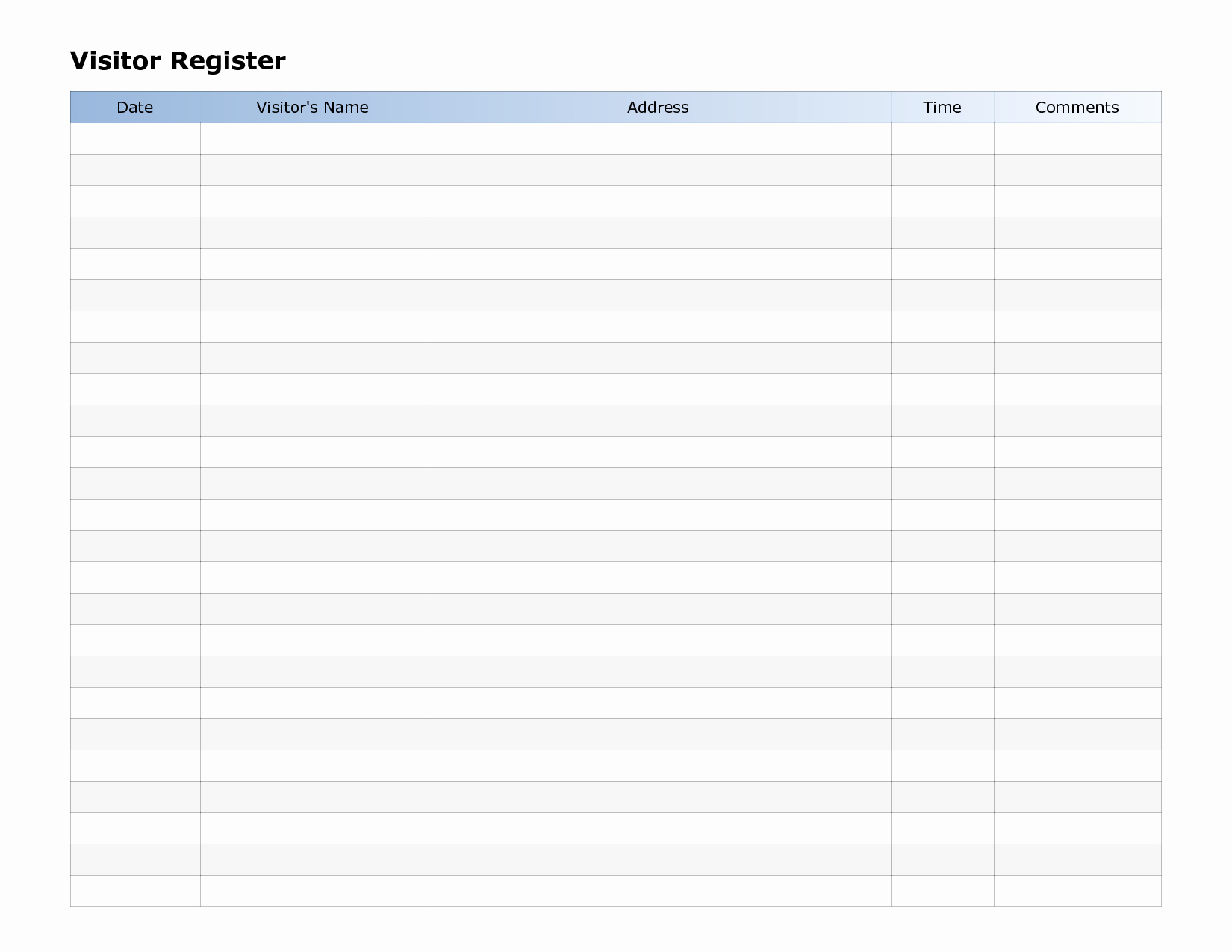 Simple Sign Up Sheet Template Beautiful How to Make A Sign In Sheet In Word