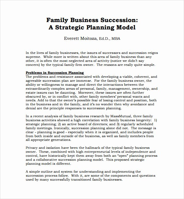 Simple Succession Plan Template Unique Business Plan Template Mba Sample Succession Planning