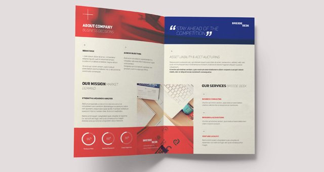 Single Fold Brochure Template Beautiful Single Fold Brochure Template Breede Bi Fold Brochure