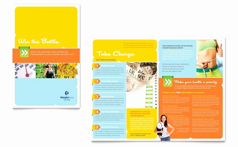 Single Fold Brochure Template Best Of 50 Best Free Half Fold Brochure Template Microsoft Word