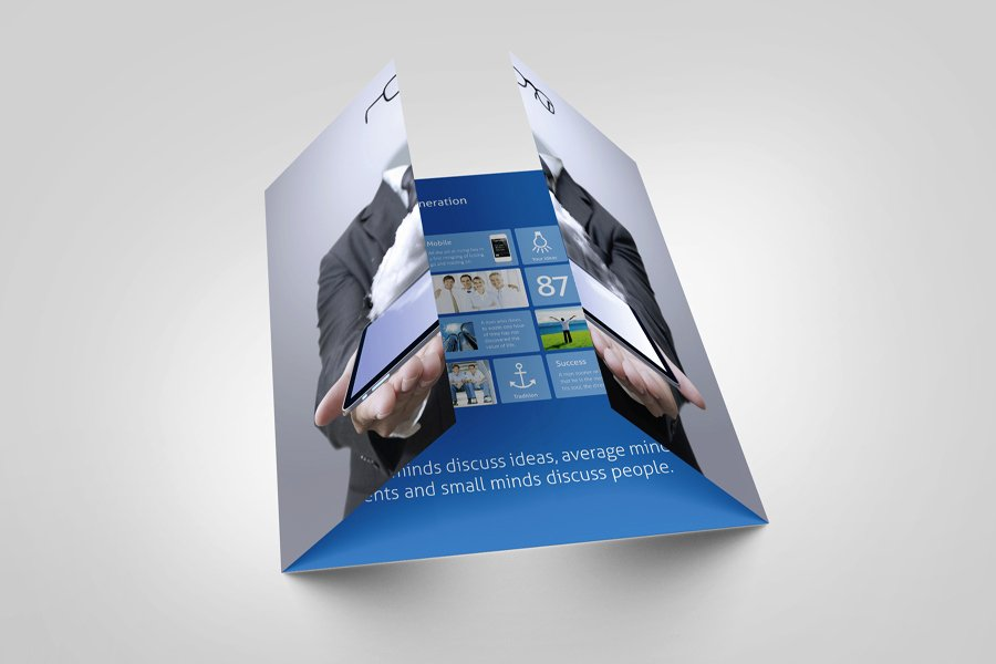 Single Fold Brochure Template Best Of How Should You Fold Your Next Brochure Mgs Marketing