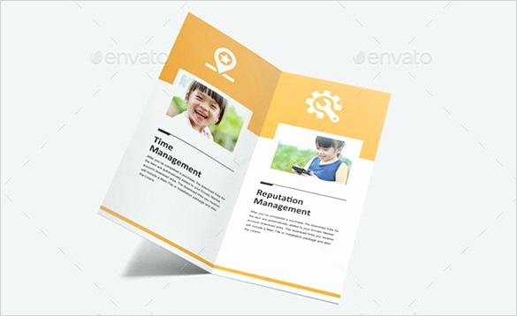 Single Fold Brochure Template Elegant Single Fold Brochure Template Single Fold Brochures Two
