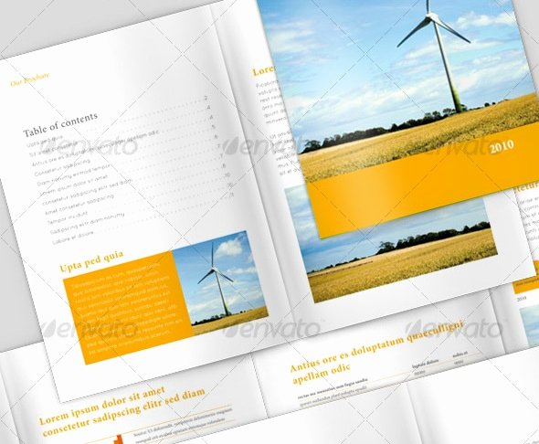 20 single fold brochure templates