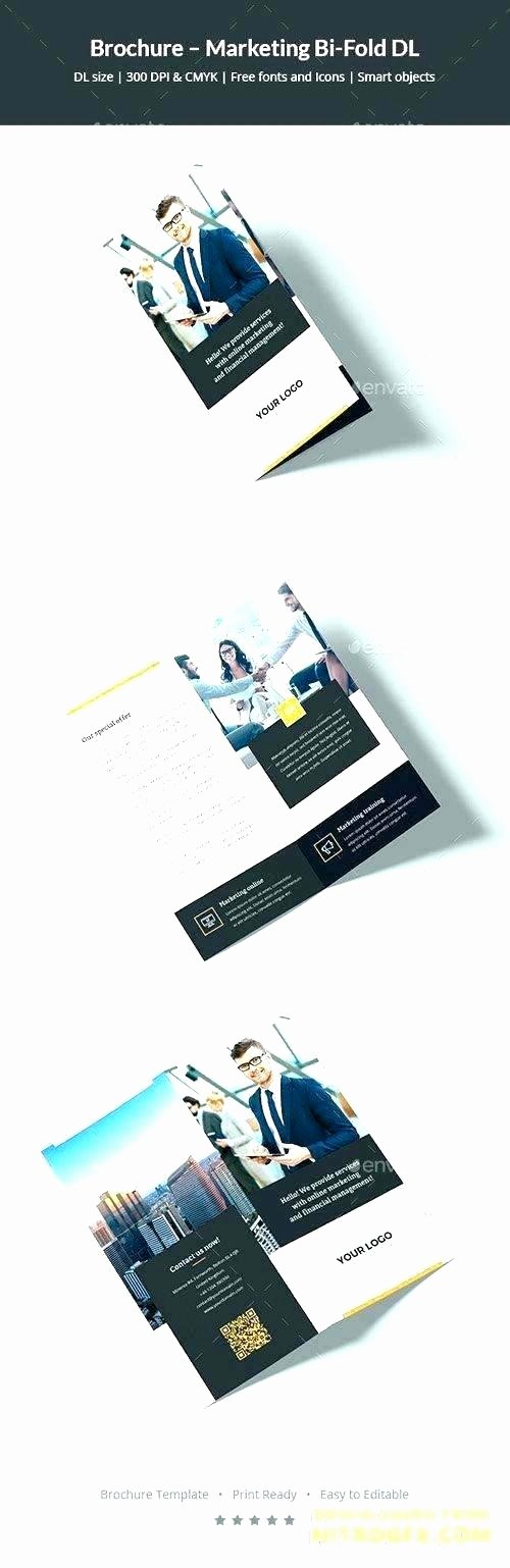 Single Fold Brochure Template Inspirational Best Brochure Design Templates Corporate Bi Fold 11×17