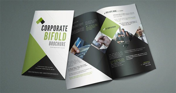 Single Fold Brochure Template Luxury Single Fold Brochure Template 20 Corporate Bi Fold