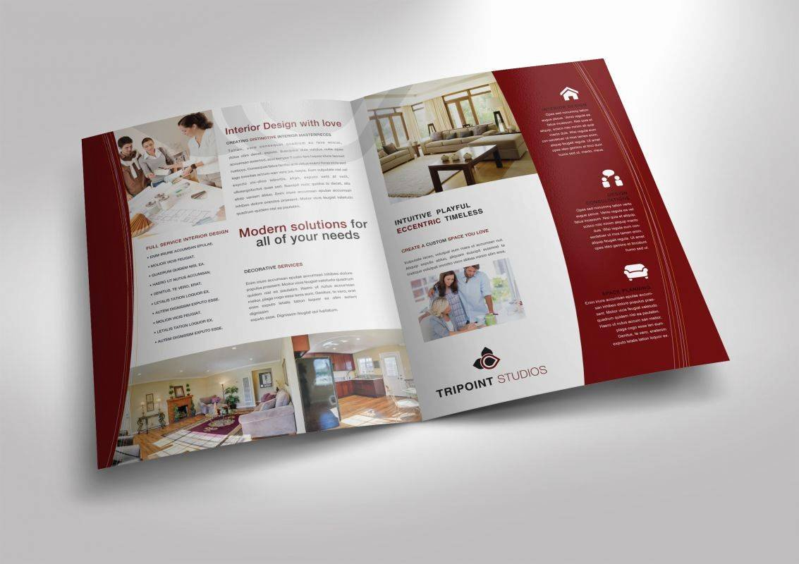 Single Fold Brochure Template Luxury Single Fold Brochures – Pronto Press International
