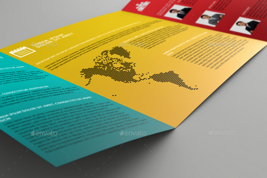 Single Fold Brochure Template Luxury Single Gate Fold Brochure Mock Up by Massdream