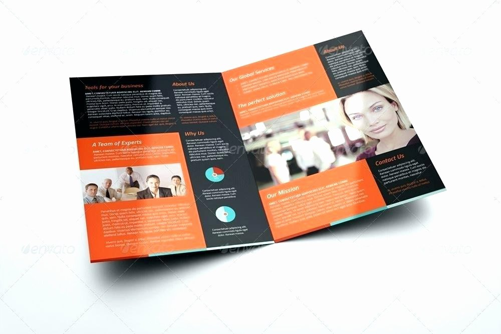 Single Fold Brochure Template Unique Half Fold Template Word – Picks