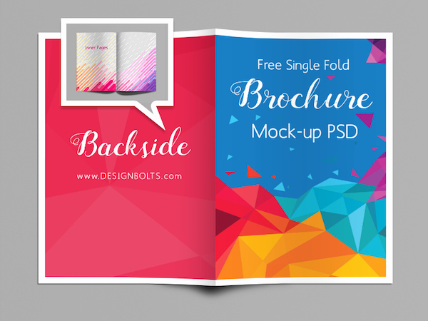 Single Fold Brochure Template Unique Single Fold Brochure Mock Up Psd