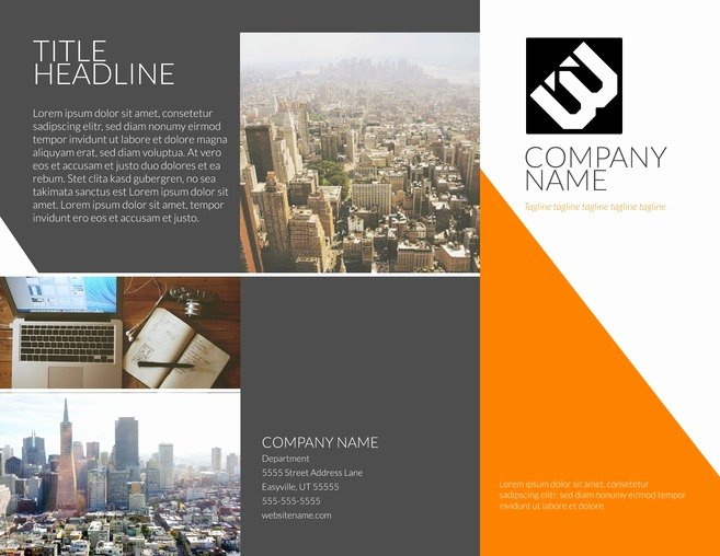 Single Page Brochure Template Awesome One Page Brochure Template One Page Brochure Template Free