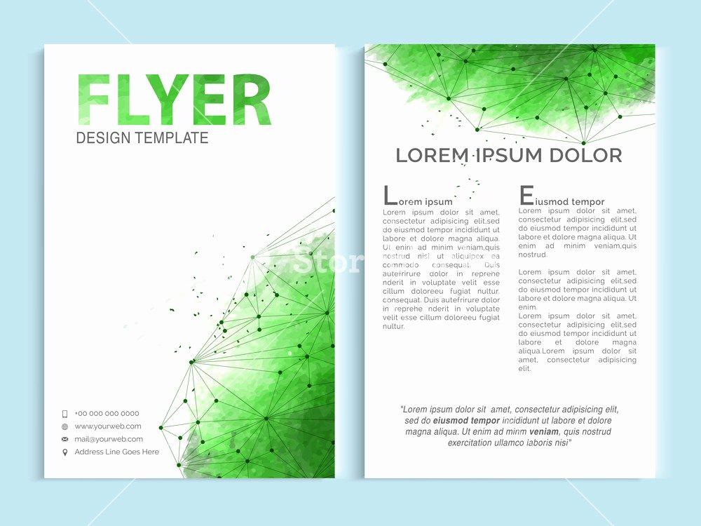 Single Page Brochure Template Elegant Brochure Design Work Gold Medal Tuition 4 Page Leaflet