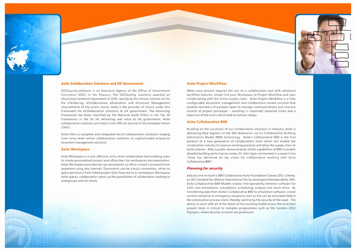 Single Page Brochure Template Fresh 10 Best Of E Page Brochure Examples Flyer