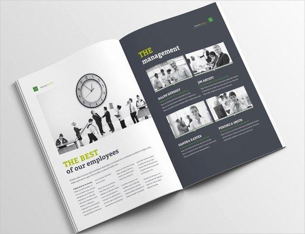 Single Page Brochure Template Fresh E Page Brochure Template 18 Free Psd Ai Vector Eps