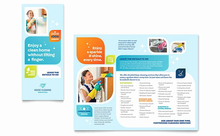 Single Page Brochure Template Inspirational E Page Brochure Template Word Csoforumfo