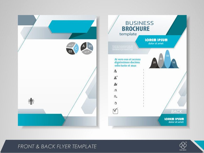 Single Page Brochure Template Inspirational Fashion Business Single Page Brochure Design Vector