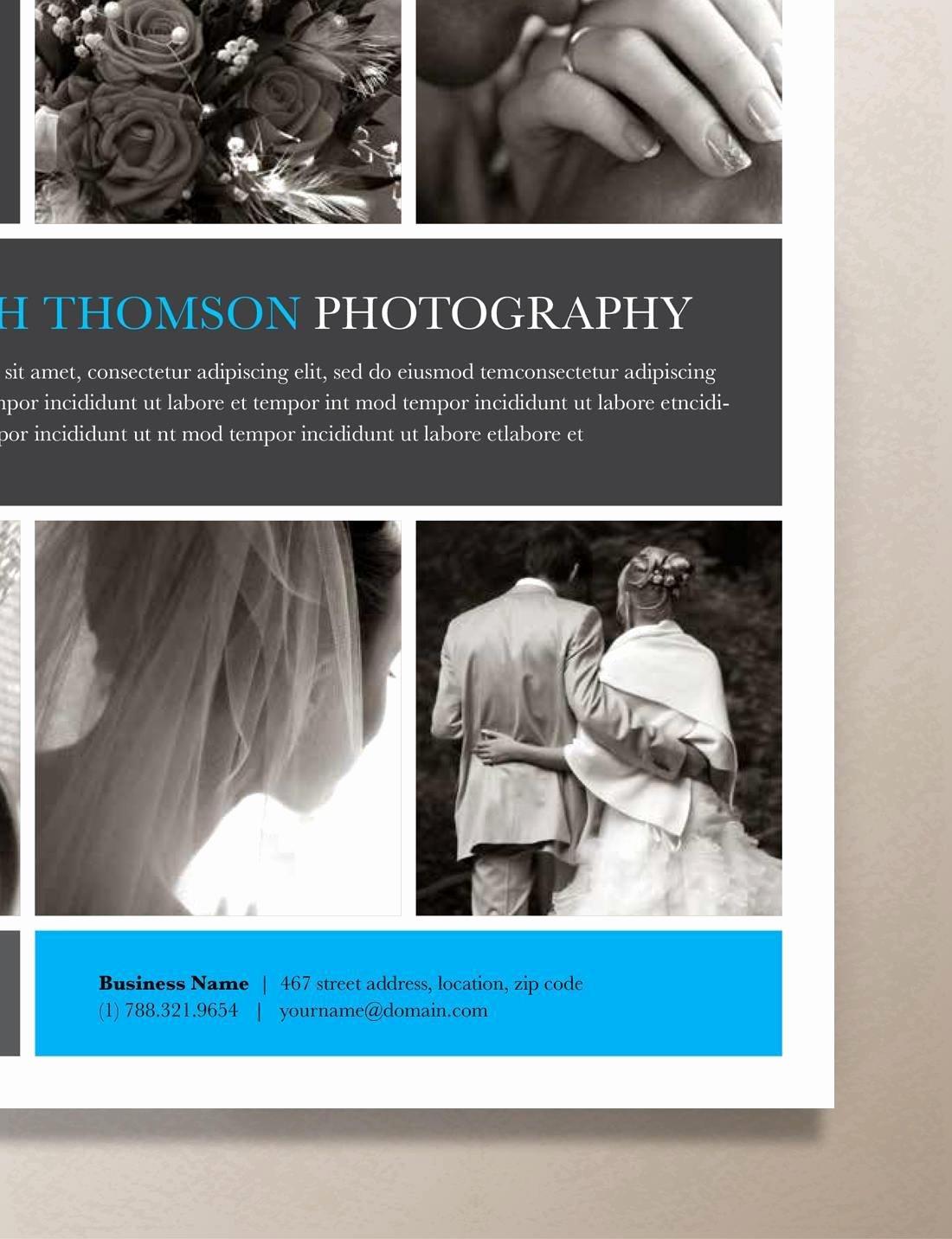 "Single Page Brochure Template Inspirational Single Page Brochure Template – ""orion"""