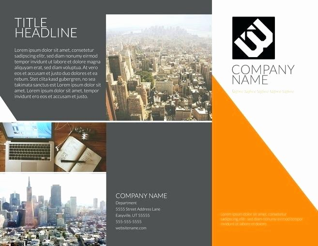 Single Page Brochure Template Lovely Brochure Single Page Templates Free Download
