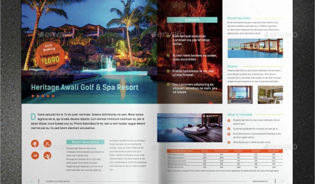 Single Page Brochure Template Luxury Single Page Brochure Templates One Page Brochure Template