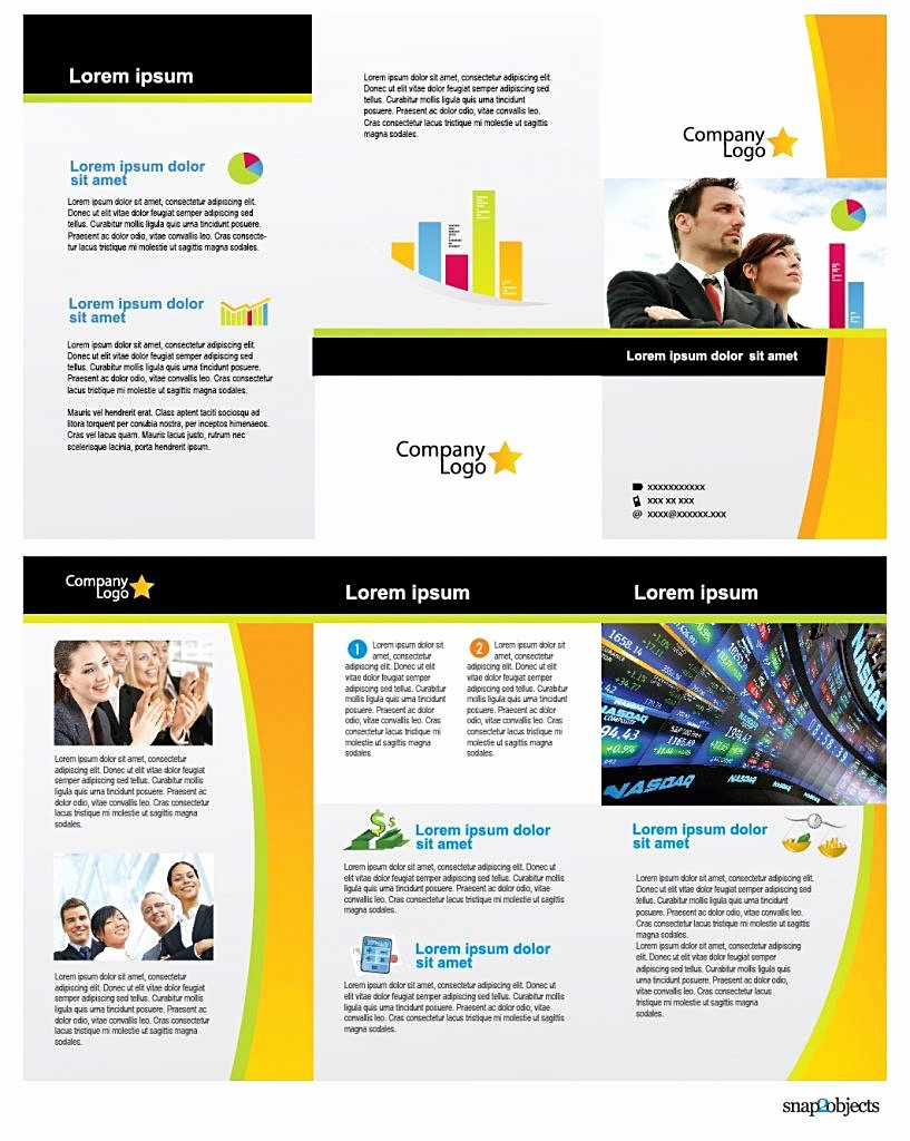 Single Page Brochure Template New Print E Page Brochure Templates Simple Templat Sample