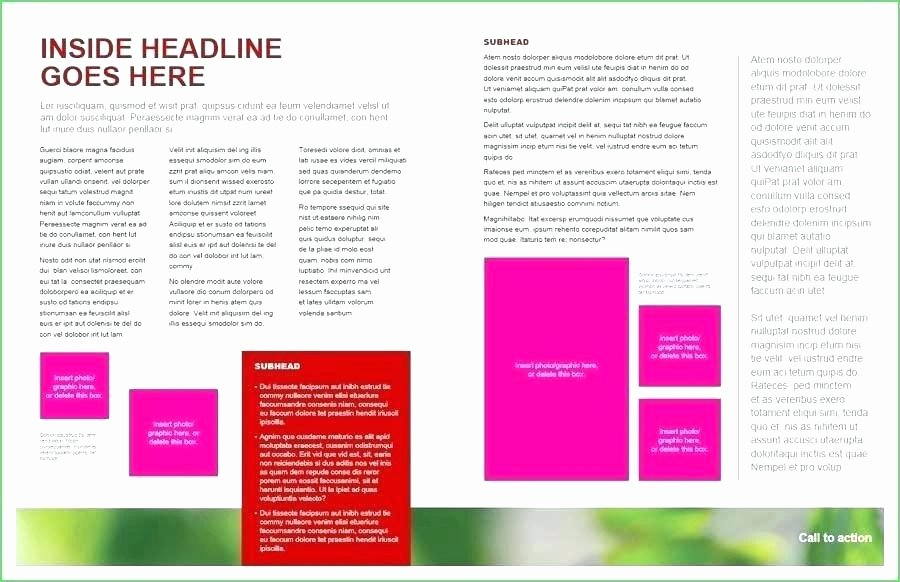 Single Page Brochure Template Unique Door Hanger Flyers Template for Word Fit Two In E Page