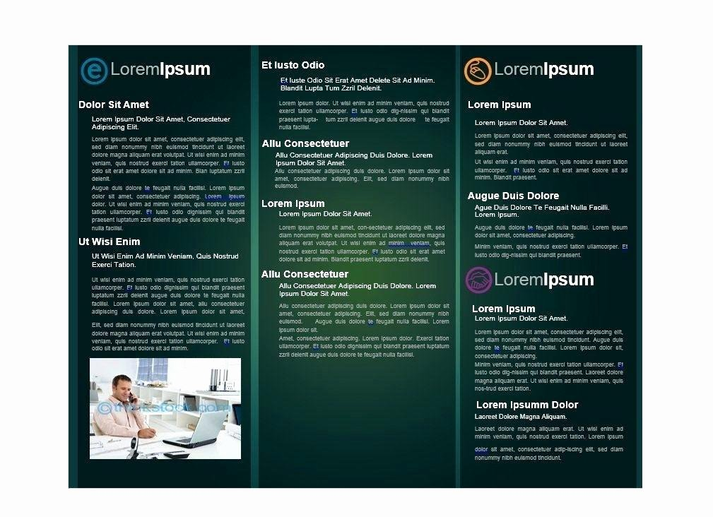 Single Page Brochure Template Unique Half Page Flyer Template Word Free Sports Templates A