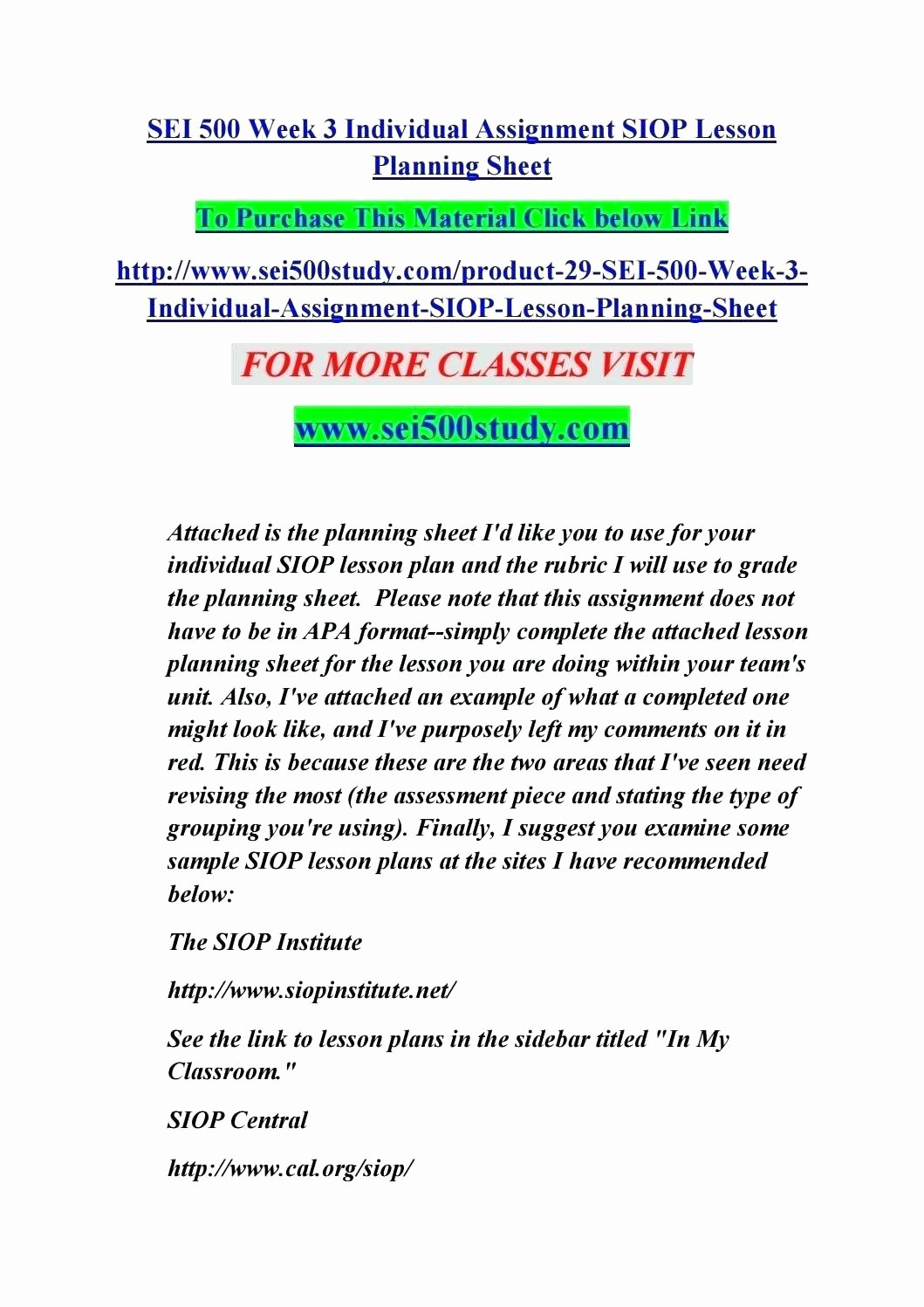 Siop Lesson Plan Template 3 Beautiful Siop Lesson Plan Examples First Grade Full Size Lesson