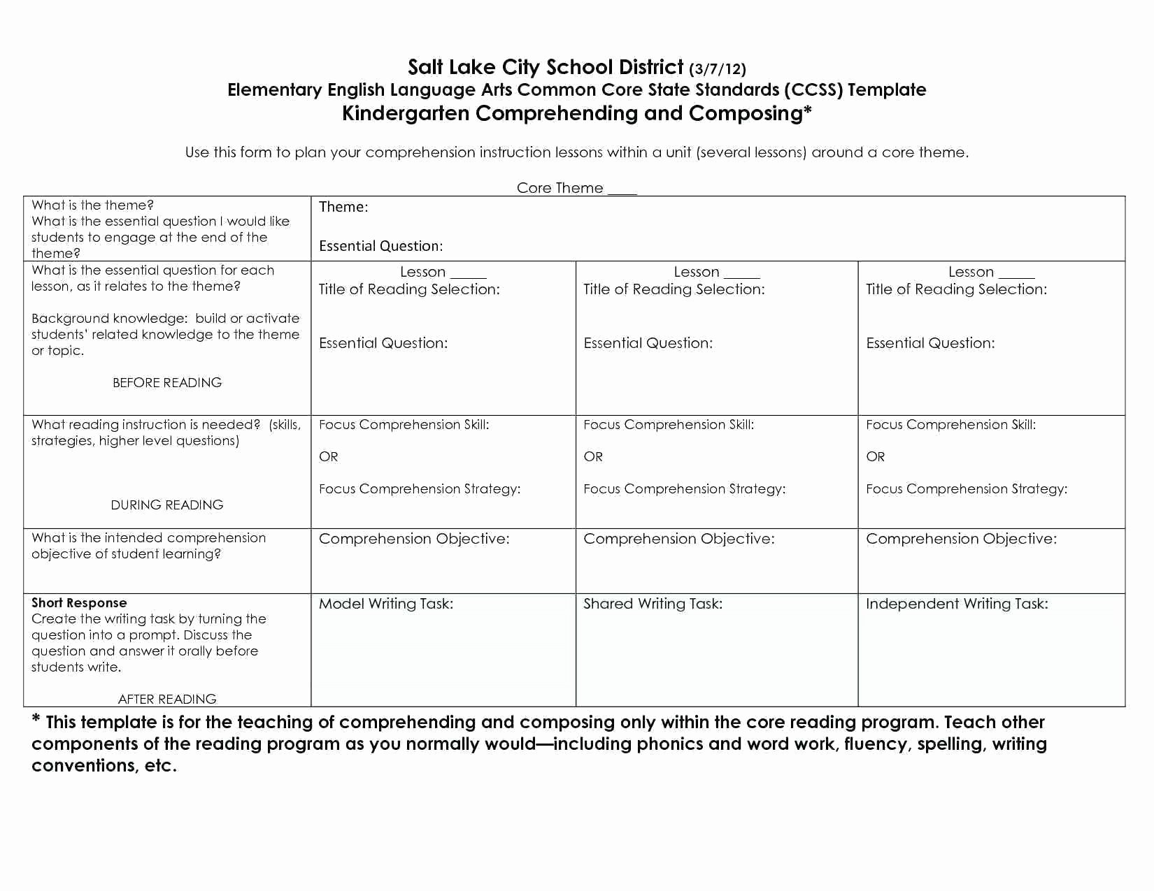Siop Lesson Plan Template 3 Luxury Siop Lesson Plan Examples First Grade Full Size Lesson