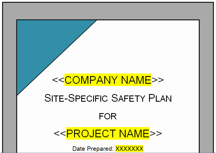 Site Safety Plan Template Elegant Related Keywords & Suggestions for Safety Plan