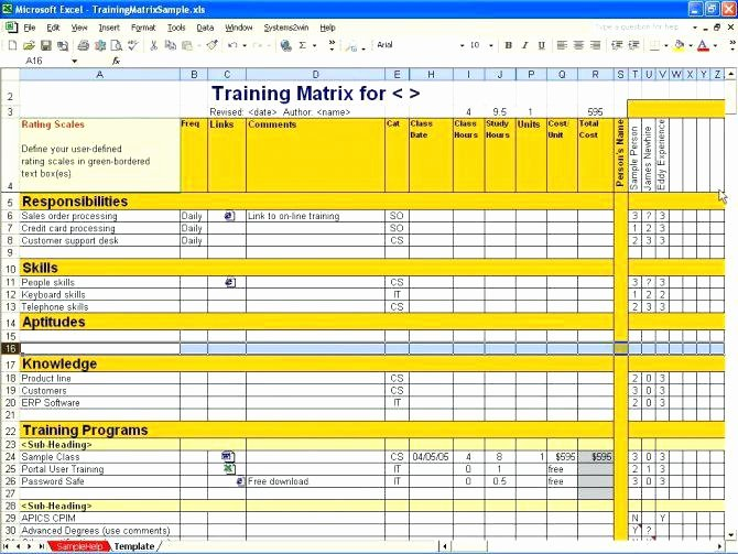 Skills Matrix Template Excel Awesome Skills Matrix Template Excel Download Petency It